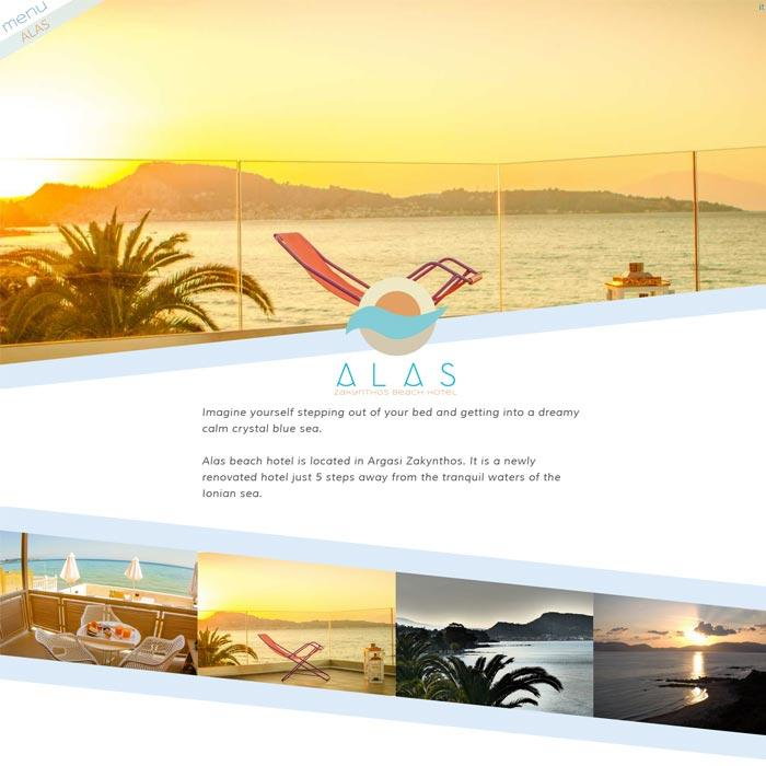 View from Alas Beach Hotel website