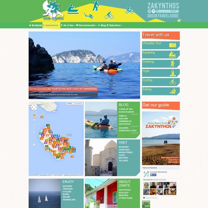 View from Eco Zante website
