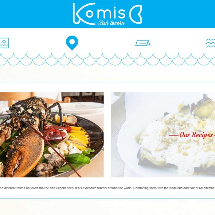 View from Komis Tavern website